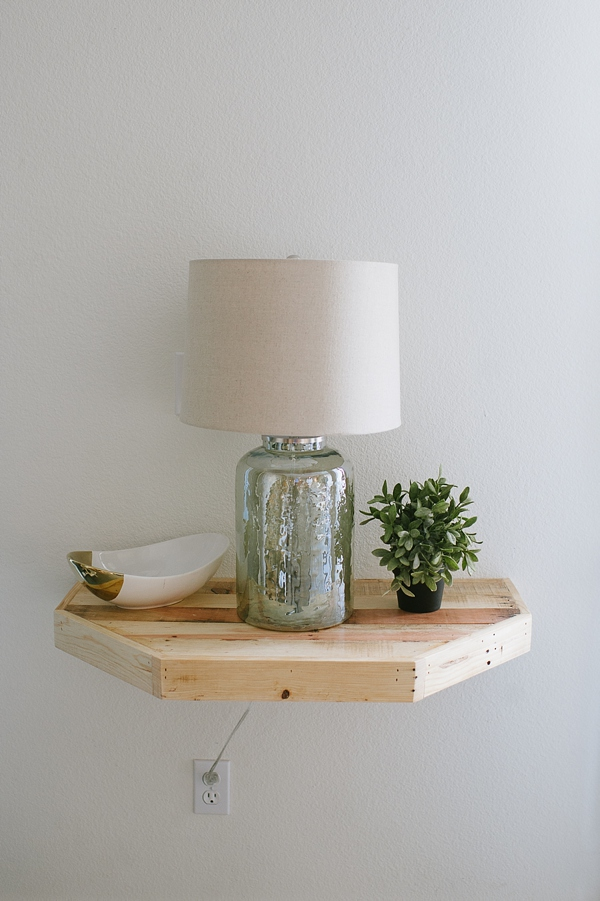 CUSTOM BUILD: FLOATING SHELF @ WE HEART STUDIO | Grace & Salt